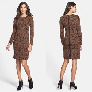 BNWT - VINCE CAMUTO Jacquard Print Sheath Dress